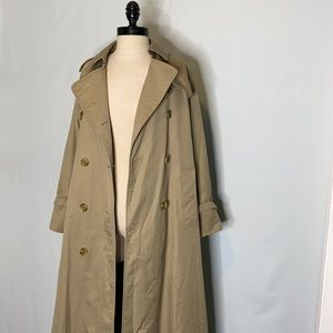 Burberrys Vintage Women's Trench Coat Tan 8